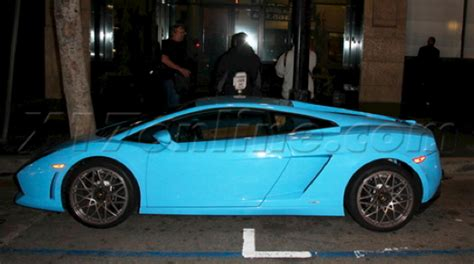 Tila Tequila Lamborghini Tila Tequila S Sky Blue Lambo Gallardo Cars