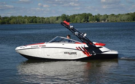 jet boat sea doo a vendre 2012 sea doo 210 wake for sport and leisure boat tests
