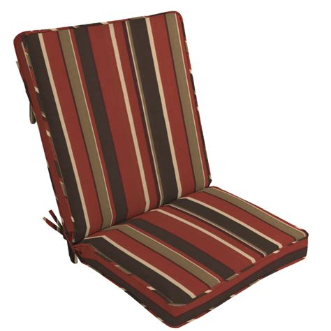 arden outdoor patio high back chair cushion monserrat