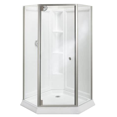 25 best ideas about corner shower doors on