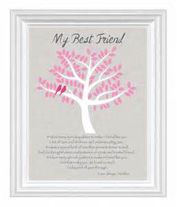 best personalized gifts best friend gift personalized gift for a special friend