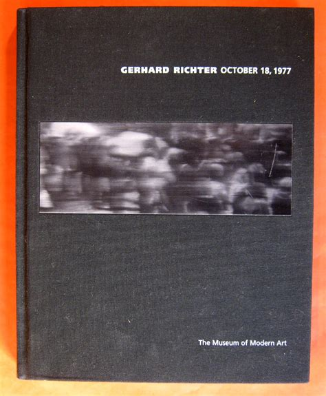 interviews on by robert storr books gerhard modern museum n new richter robert storr y