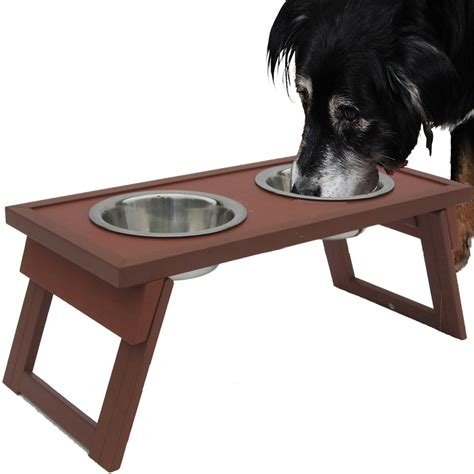 elevated food bowls elevated food bowls russet in pet bowls