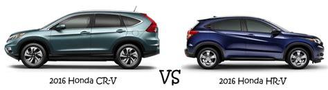 Honda Hrv Vs Crv Honda Cr V Vs Hr V Which Roomy Suv Is Right For You