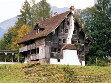 typical houses in your country europe photos of the swiss mountains appenzell house