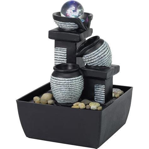 beleuchtung zimmerbrunnen zimmerbrunnen mit led beleuchtung renkforce 1233679 zum