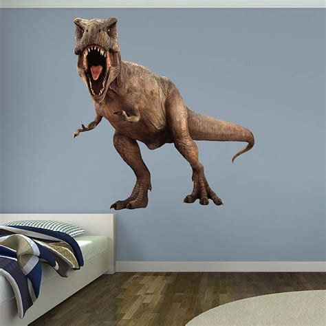 Custom Fatheads Wall Stickers t rex jurassic world wall decal shop fathead 174 for