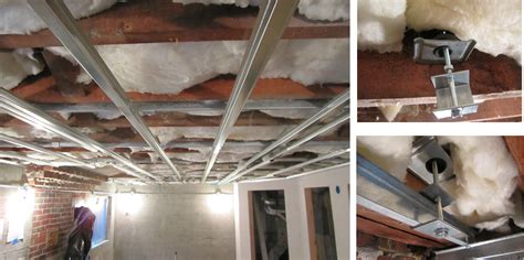 How To Install Resilient Channel On Ceiling by Installing Resilient Channel Ceiling