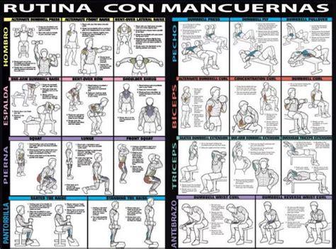 tabla de ejercicios con mancuernas 2015 para principiantes gym extremo on twitter quot rutina completa con mancuernas