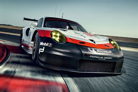 porsche race cars porsche reveals a mid engined 911 race car by car magazine