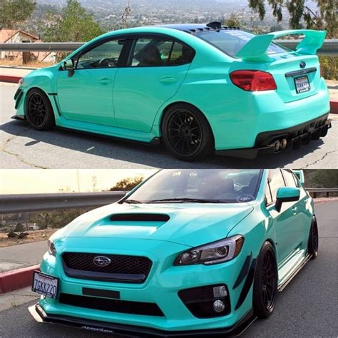 subaru teal dat subaru and dat color