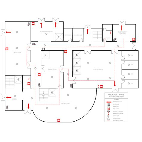 hospital plan template hospital emergency plan