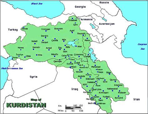 map kurdistan iraq swissdefenceleague
