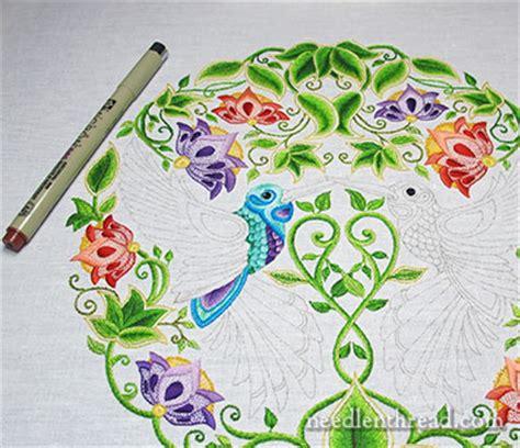 secret garden coloring book dubai secret garden embroidery a bit of a needlenthread
