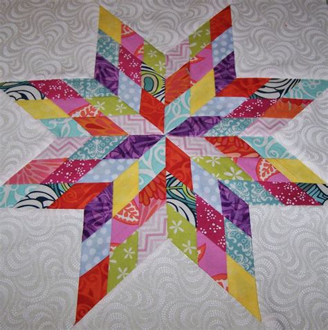 Lone Quilt Template by Gallery Scrap Bom