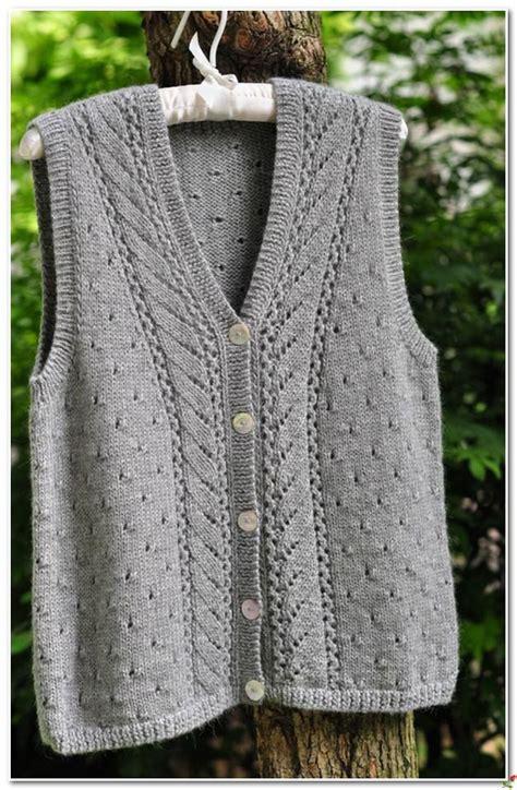 knitting pattern vest top 1561 best knitted vests images on pinterest knit vest