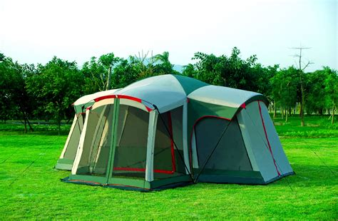 gigatent mt kinsman 3 room tent with attached screen room