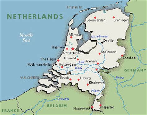 netherlands mountains map map of cities pictures map of netherlands