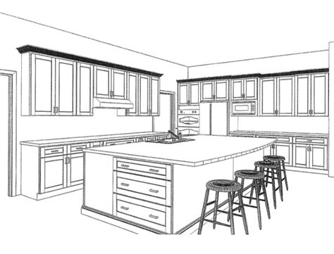 kitchen design drawings wall or no wall part 2 nosan signature homes
