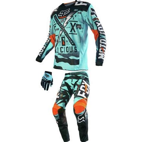 motocross combo gear dirt bike fox racing 2016 peewee 180 combo vicious