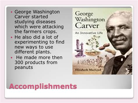 george washington biography ppt biography of george washington carver ppt download