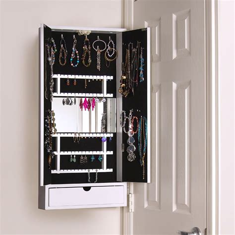 armoire lock fresh wonderful jewelry armoire with mirror and lock 21262