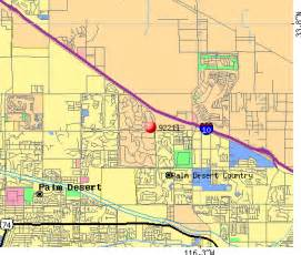 map of palm desert california 92211 zip code palm desert california profile homes