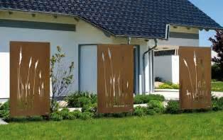 Sichtschutz Garten Stahl