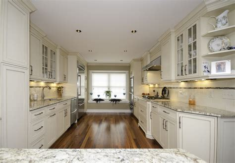 galley kitchens with island galley kitchen with peninsula neptune nj by design line