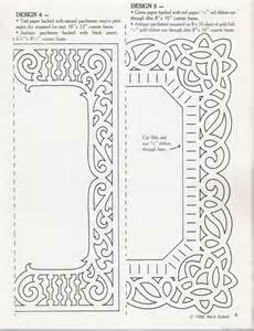 free paper cut out templates paper cut frame template paper cutters patterns