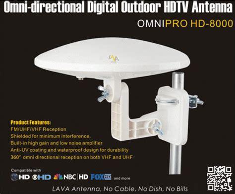Antena Tv Outdoor Digital Bosq Bq Hd 60 Best For Lcd Dan Led Tv lava hd8000 omnipro omni directional outdoor hdtv antenna lava hd8000