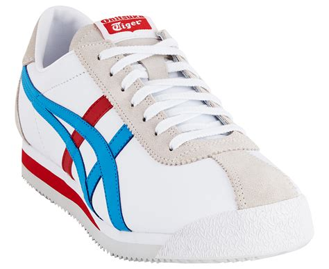 shoe size chart onitsuka tiger onitsuka tiger men s corsair shoe white island blue ebay