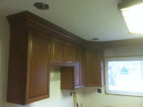 How To Install Kitchen Cabinets On Uneven Walls Crown Molding For Uneven Kitchen Cabinets Built In Wine Racks For Kitchen Cabinets Crown
