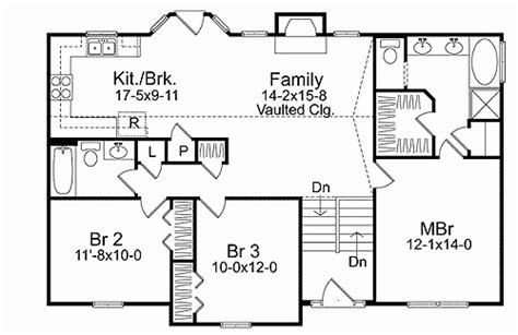 custom split level house plans best of peachy design small