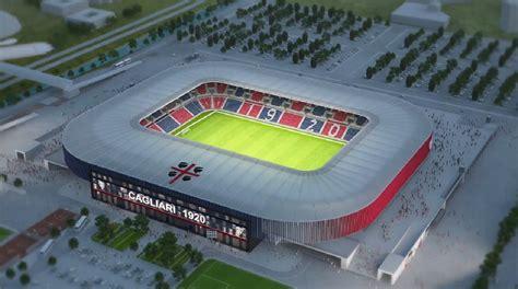 sede cagliari calcio projekt nuovo stadio cagliari stadiony net