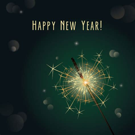 new year vector ai free vector new year sparkler vector illustrationfree