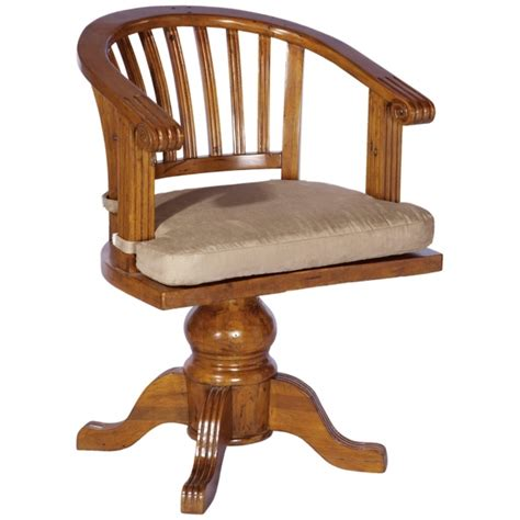 wooden swivel desk chair antique wooden swivel desk chair image 04 chair design