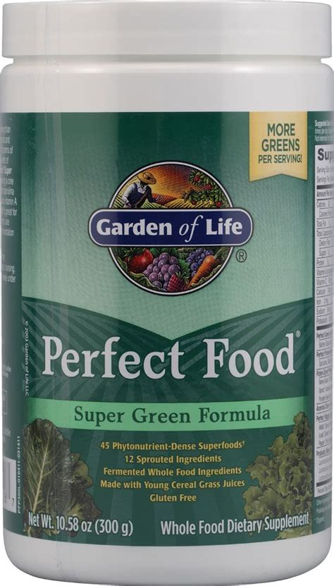 Garden Of Green Powder Freshest Vitamins And Supplements By Professional
