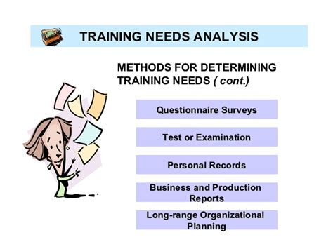 research paper training needs assessment