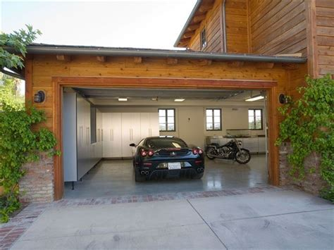 What Is A Garage His Car Garage Contemporary Garage Los Angeles