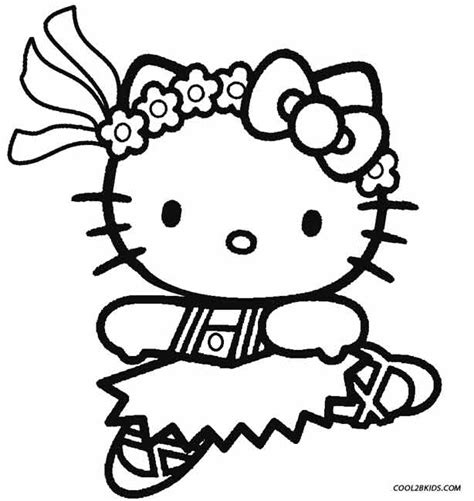 coloring page hello kitty ballerina hello kitty ballet coloring pages coloring page hello
