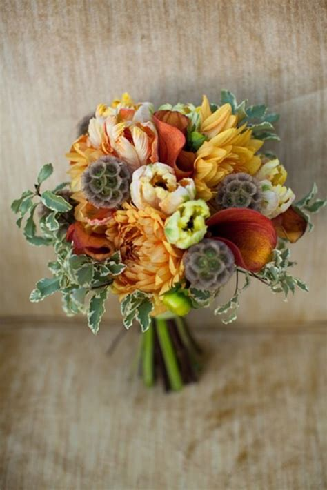 fall flowers for weddings 30 fall wedding bouquets rustic wedding chic
