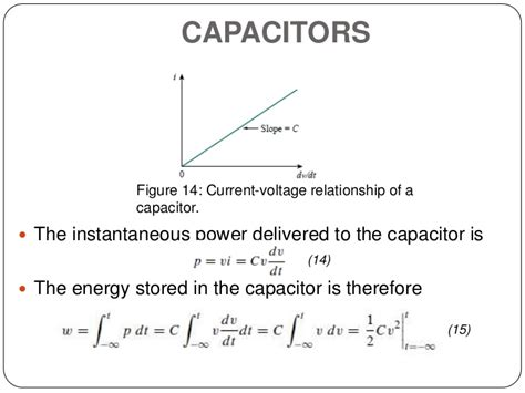 capacitor voltage and current relationship circuit theory 1 finals