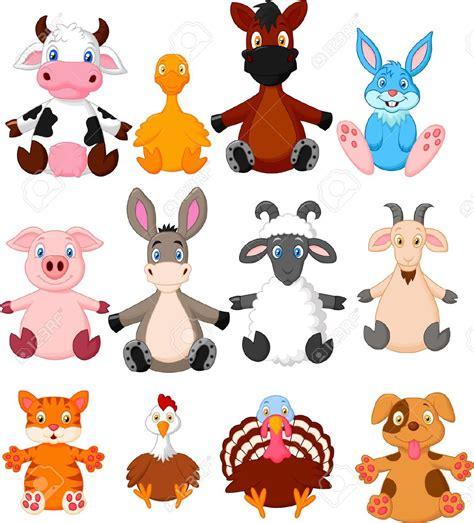 imagenes de animales animadas colecci 243 n de dibujos animados de animales de granja