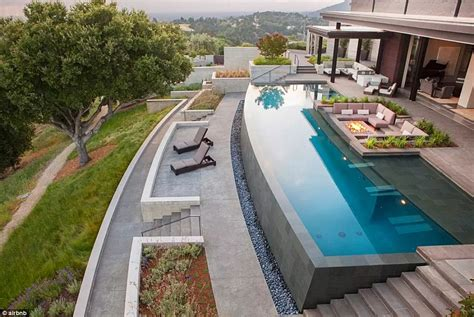 infinity pool backyard the most expensive airbnb listings around the world