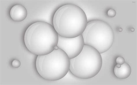 wallpaper 3d white white balls wallpaper 3d wallpapers 23131