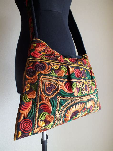 Handmade Purses And Handbags - ethnic handmade bag new fabric bohemian style handbags and