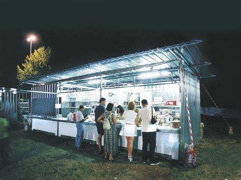 capannoni per feste container box per sagre feste e manifestazioni