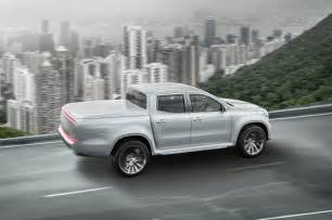 mercedes x class concept rear side in motion motor
