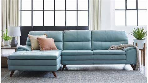 Harvey Norman Leather Sofa Buy Splendor 3 Seater Leather Sofa With Chaise Harvey Norman Au
